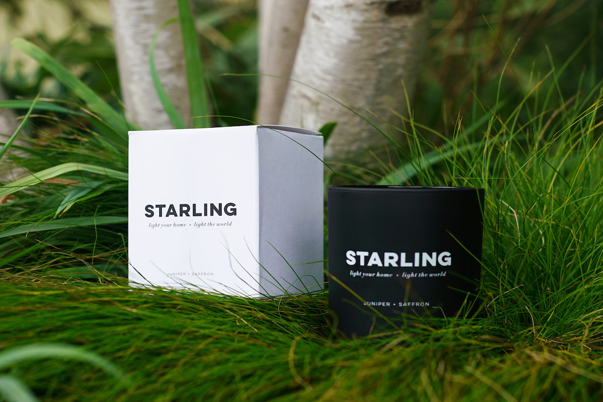 Starling Project Candles Packaging