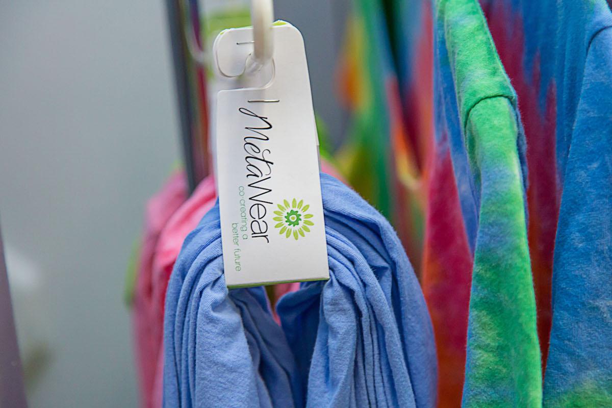 Organic Trade Association East Coast Press Tour 2016 visit to Meta Wear organic textiles in Fairfax, Virginia