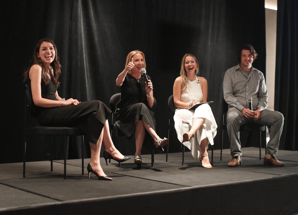 Natasha Berg, Susan Rockefeller, Lea d'Auriol, Mark Dalio via Oceanic Global