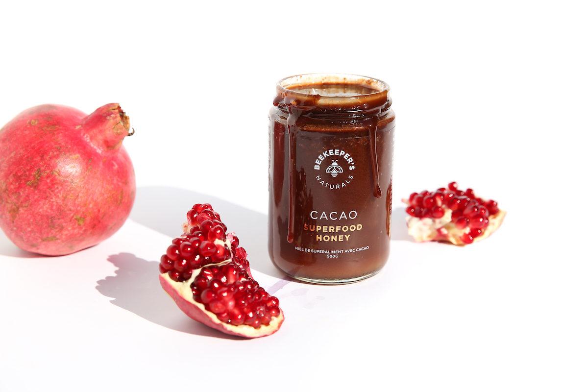 beekeeper's honey natural jam