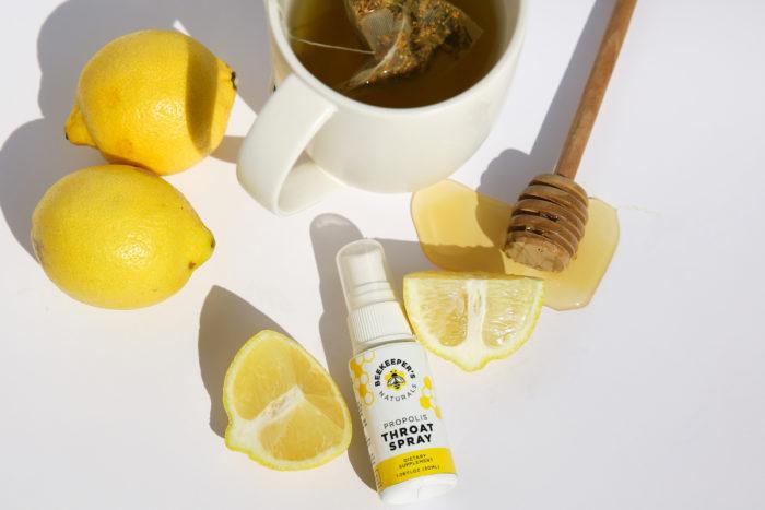 Beekeeper's naturals throat spray